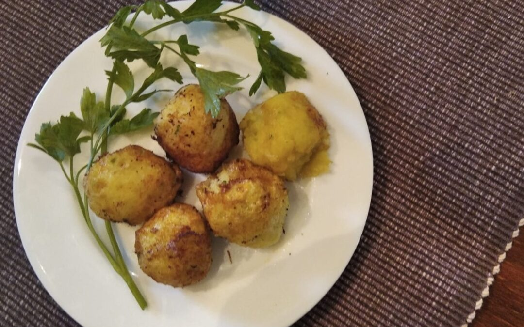 Bunyols de bacallà i patata